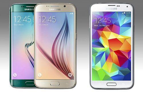 Galaxy S6 ve Galaxy S5 TouchWiz arayüzü karşılaştırması