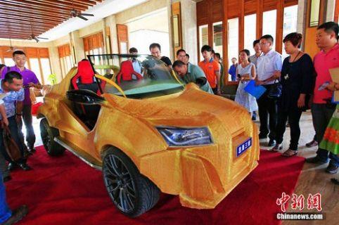 Sonunda 3D yazıcıyla araba da yapıldı!