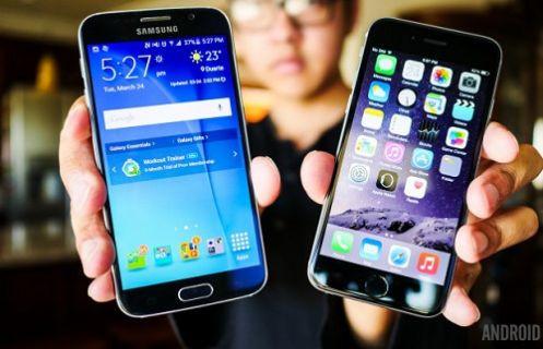 Galaxy S6 ve iPhone 6 kozlarını paylaşıyor!