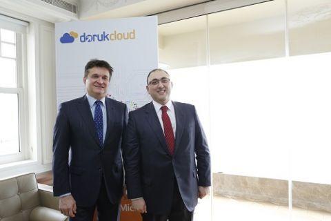 DorukNet, Microsoft Cloud OS Network Programı'nın Türkiye'de birinci seviyedeki ilk ve tek iş ortağı