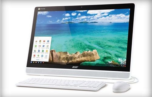 Acer'dan hepsi bir arada Chrome işletim sistemli dokunmatik ekran bilgisayar