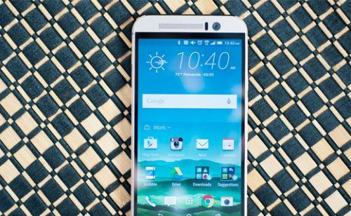 HTC One M9 paramparça