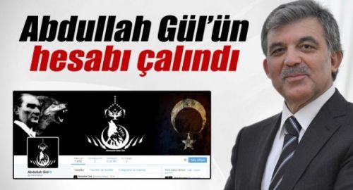 11. Cumhurbaşkanı Abdullah Gül'ün Twitter hesabı hacklendi