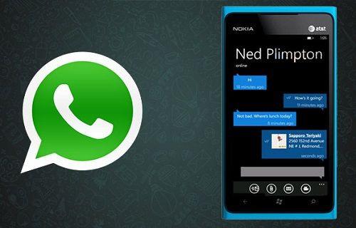 WhatsApp sesli arama özelliği Windows Phone için doğrulandı