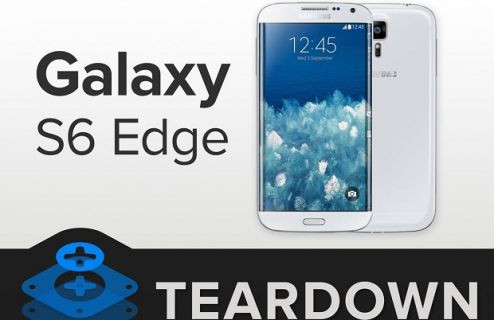 Samsung Galaxy S6 Edge paramparça