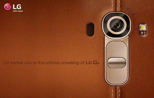 LG, G4'le ilgili bilgiler vermeye devam ediyor