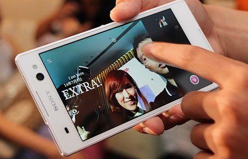 Sony'nin selfie telefonu Xperia C4 ilk kez çalışırken görüntülendi