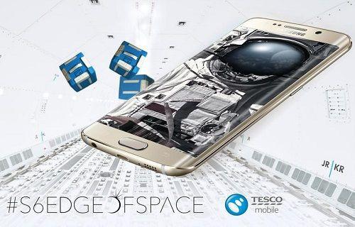 Galaxy S6 Edge'in gerçekleştireceği uzay yolculuğunu canlı izleyin