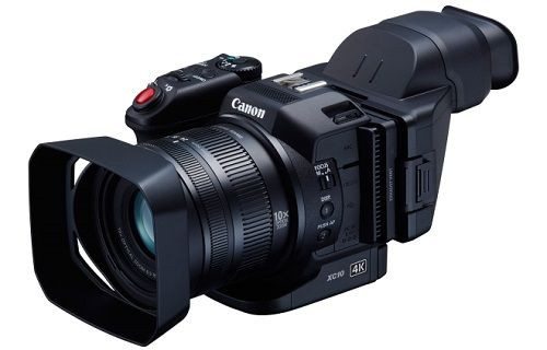 Canon'dan 4K video kaydı gerçekleştiren kamera: Canon XC10