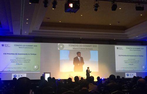 Türkiyenin en kapsamlı CIO Zirvesi Antalya'da yapıldı