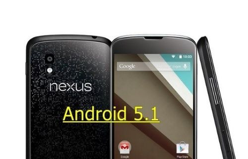 Nexus 4 için ilk Android 5.1 ROM'u yayınlandı