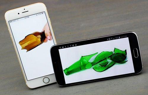 Sonunda bu da oldu: Android – iPhone (iOS) kavgasında kan aktı