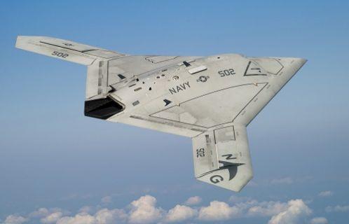 İnsansız hava aracı X-47B havada yakıt ikmali yaptı