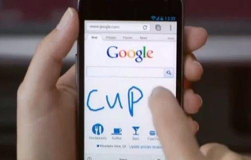 Google Chrome'da El Yazısıyla arama nasıl yapılır?