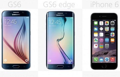 Rakamlarla Galaxy S6 (Galaxy S6 Edge) - iPhone 6 karşılaştırması