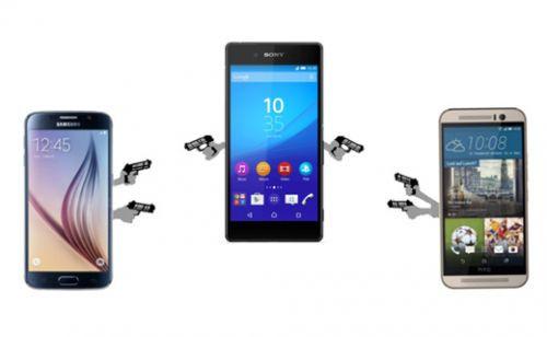 HTC One M9 vs Samsung Galaxy S6 vs Sony Xperia Z4 karşılaştırma
