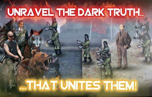 Vladimir Putin ve Barack Obama, Lenin'in zombi ordusuna karşı!