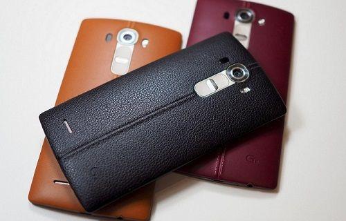 İşte LG G4'ün basın fotoğrafları