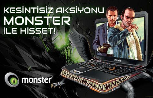 Dizinizdeki Canavar: Monster Notebook