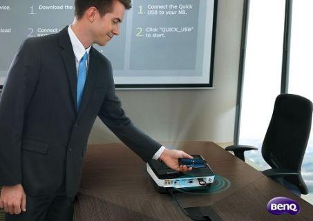 BenQ NFC'li Yeni Nesil Projeksiyonlarını Tanıttı