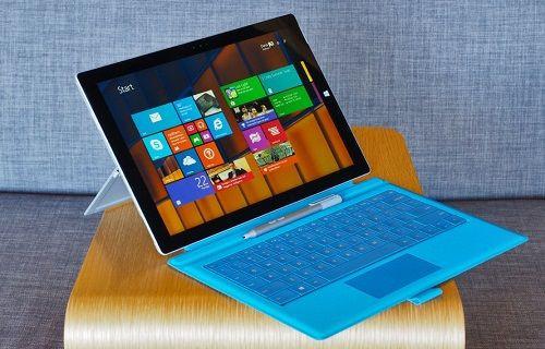 Microsoft, Surface 3'e şimdilik Windows 10 kurulmasını önermiyor