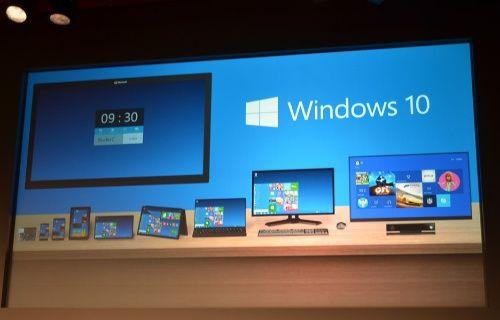 Windows 10, Microsoft'un onuncu ve son işletim sistemi olacak!