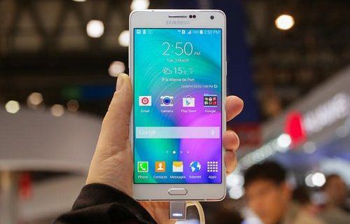 Samsung parmak izi sensörüne sahip Galaxy A8'i hazırlıyor