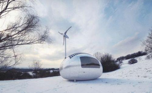 Evinizi yanınızda götürün! İşte taşınabilir ev Ecocapsule!