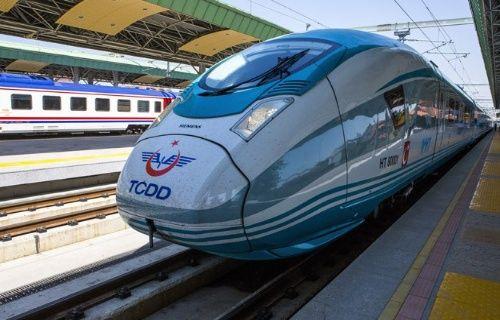 Çok yüksek hızlı trenlerin ilki seferine başladı!