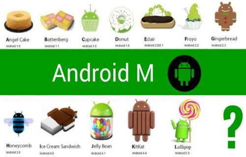 Android 6.0'nın adı belli oldu!