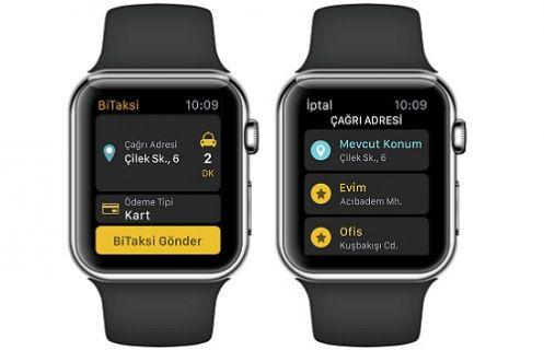Apple Watch ile Taksi Çağırın