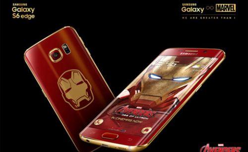 Samsung, Galaxy S6 Edge'in Iron Man serisini resmen duyurdu