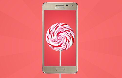 Galaxy Alpha Android 5.0 güncellemesi Türkiye'de
