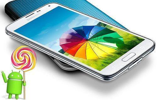 Galaxy S5 için Android 5.0.2 güncellemesi test ediliyor