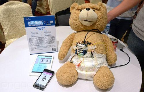 Computex 2015: Acer'dan ilk akıllı bebek bezi gelebilir!