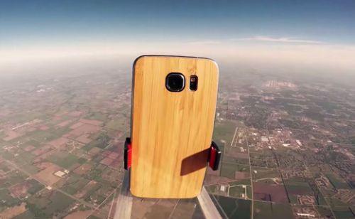 Samsung Galaxy S6 uzaydan yere çakıldı! (Video)
