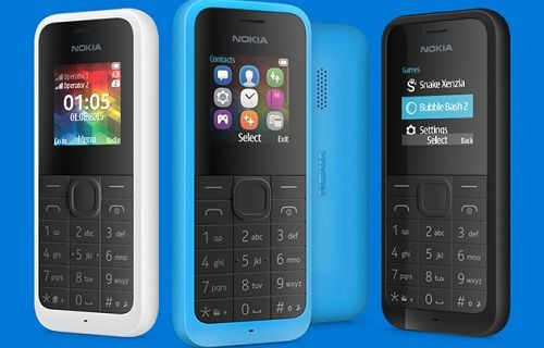 Microsoft'tan 20 dolara telefon: Yeni Nokia 105
