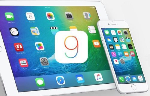 iOS 9'un yeni duvar kağıdını indirin