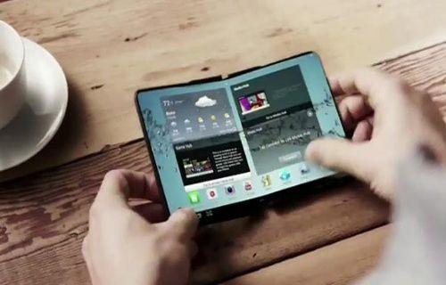 Samsung, katlanabilir ekranlı akıllı telefon patentini aldı!
