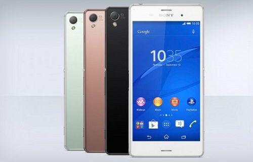 Sony Mobile, Xperia M4 Aqua ve Xperia Z3+ ile Yaza Merhaba Dedi