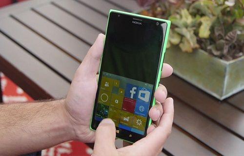 Windows 10 Mobile'a iPhone benzeri tek elle kullanım modu geldi