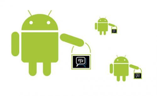Android'li BlackBerry akıllı telefonlar geliyor!