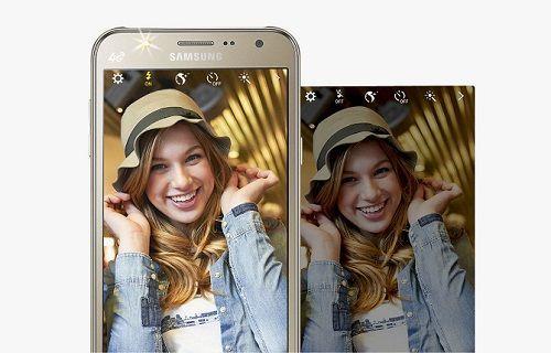 Samsung'un ön LED flaşlı ilk telefonları Galaxy J5 ve Galaxy J7 tanıtıldı