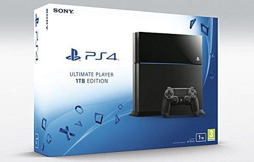 Sony, 1TB depolamaya sahip PlayStation 4'ü duyurdu