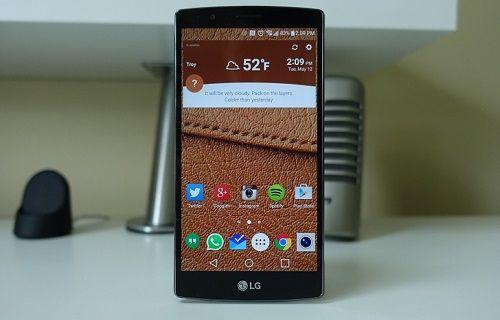 LG, G4'ün dokunmatik ekran sorununu kısmen çözdü