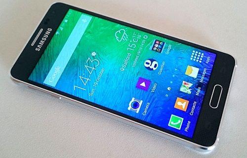Galaxy Alpha Android 5.1.1 güncellemesi çok yakında