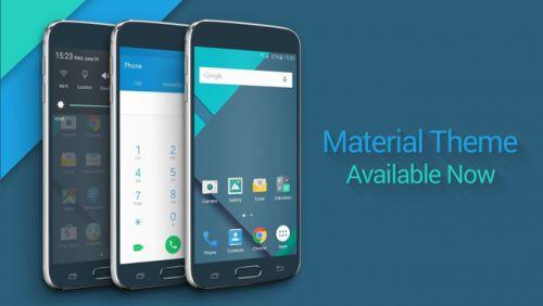 İşte Galaxy S6 ve S6 Edge için ilk Materyal Tasarım'lı tema