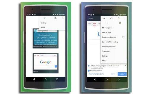 CyanogenMod, Chrome tabanlı bir tarayıcı geliştiriyor