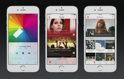 iOS 8.4 güncellemesi Apple Music servisinden yoksun geldi