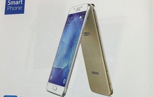 Samsung Galaxy A8'in tüm özellikleri netlik kazandı